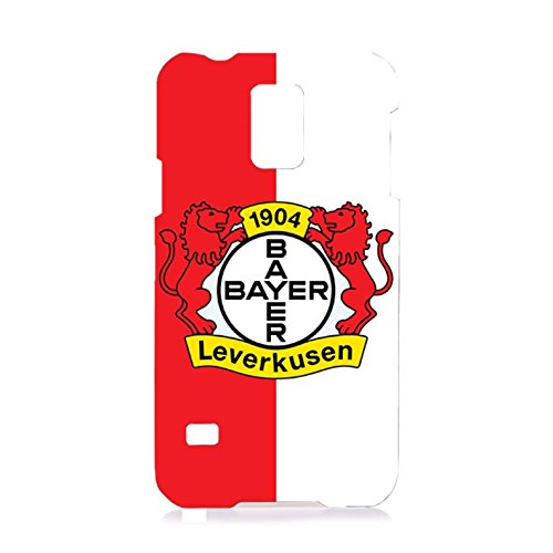 Bayer 04 Leverkusen Fu?ball GmbH Phone Case Contracted 3D Phone Shell for Samsung Galaxy S5 I9600with Team Logo