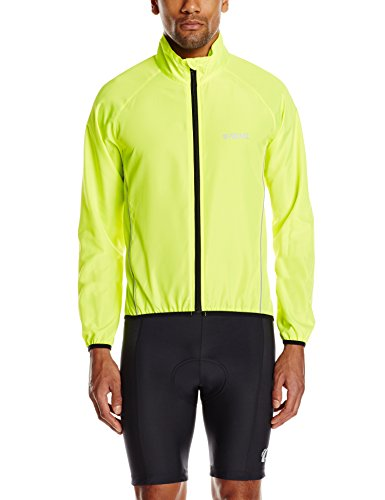 Proviz Windproof Cycling Jacket, Yellow, Small