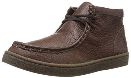 Hush Puppies Bridgeport 2 Uniform Chukka Boot (Little Kid/Big Kid), Brown, 6 W US Big Kid (Hush Puppies Shoes Kids compare prices)