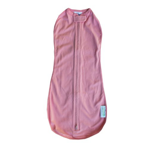 The Woombie Original Swaddle Blanket, Bubblegum, 14-19 Pounds