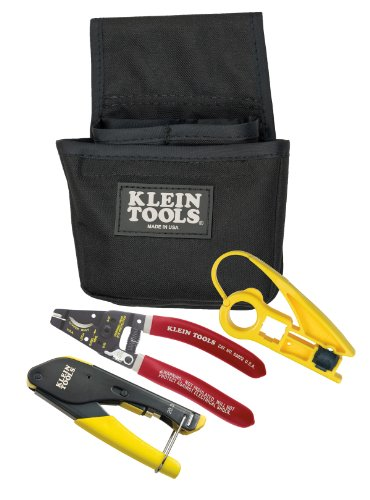 Klein Tools Vdv012-811 Coax Installer Starter Kit, F-Connectors