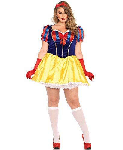 Halloween 2017 Disney Costumes Plus Size & Standard Women's Costume Characters - Women's Costume CharactersLeg Avenue 85420X Plus Size Poison Apple Princess Halloween Costume - Sizes Up to Plus Size 1X-2X