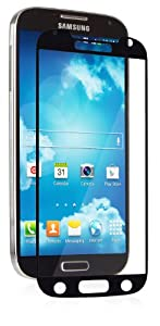 Moshi iVisor XT Screen Protector for Samsung S4 (Crystal Clear) Black