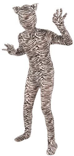 I'm Invisible White Tiger Kids Costume