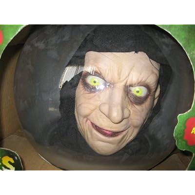 "Amazon.com : Gemmy Spirit Ball, 14"" talking butler, for Indoor or"