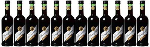 Rotwild Dornfelder Rotwein QbA trocken (12 Flaschen), 12er Pack (12 x 0.25 l)