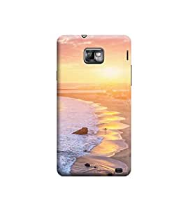 EPICCASE Premium Printed Back Case Cover With Full protection For Samsung Galaxy S2 I9100/9108 (Designer Case)