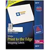 Avery® Shipping Labels for Color Laser & Copier, 1-1/4 x 3-3/4, Matte White, 300/Pack