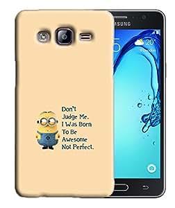PrintFunny Designer Printed Case For SamsungOn7