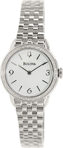 Bulova Women'S 96R181 Analog Display Analog Quartz Silver Watch
