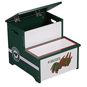 National Hockey Leaguetm Minnesota Wild Storage Step-up by Guidecraft