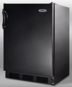 Summit : CT66B 5.1 cu. ft. Compact Refrigerator - Black by Summit