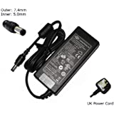 "Laptop Adapter for HP Compaq Presario CQ60 CQ61 CQ58 CQ57 CQ70 CQ71 CQ56 (All Models) Laptop Charger AC Adapter Adaptor (Includes UK Powercord & 12 month warranty) - ""Laptop Power"" - Branded"