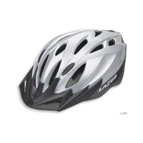 Buy Low Price Lazer Topaz Silver Small / Medium helmet 54-58cm w/ removable visor (B000ML0WSC)