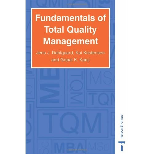 Fundamentals+of+total+quality+management+process+analysis+and+improvement