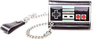 NINTENDO - Portefeuille - NES Controller Trifold Chain Wallet