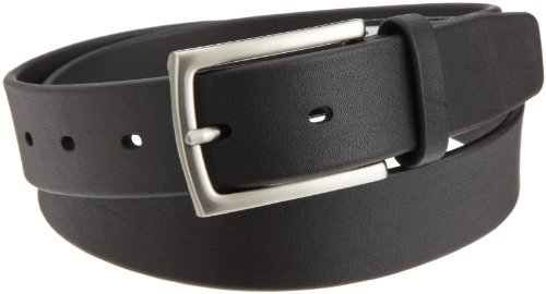 Perry Ellis Mens Tubular Belt, Black, 32