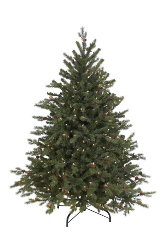 GKI Bethlehem Lighting Pre Lit 4 1 2 Foot PE PVC Christmas Tree With 300 Clea