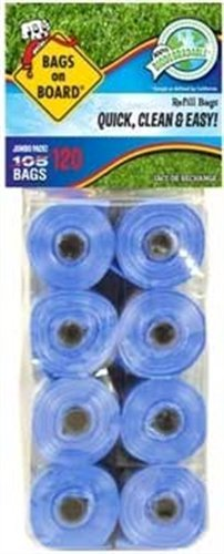 Bags on Board Regular Bag Refill Pack, 120 Bags