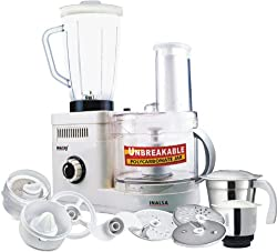 Inalsa Maxie DX 600-Watt Food Processor