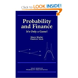 Probability and finance Glenn Shafer, Vladimir Vovk