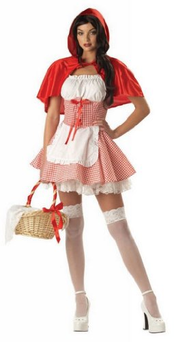 Adult's Miss Red Riding Hood Costume