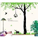 Beancase Big Tree and Bird Case Wall Decal