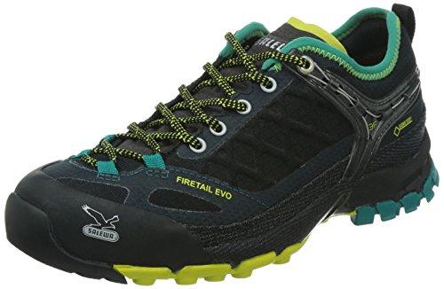 SALEWA-WS-FIRETAIL-EVO-GTX-Damen-Trekking-Wanderhalbschuhe-Schwarz-0950-BlackVenom-425-EU