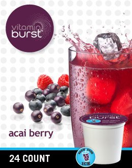 Vitamin Burst Acai Berry Vitamin Water (2 Boxes Of 24 K-Cups)