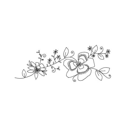 Penny Black Rubber Stamp, Sun Caressed
