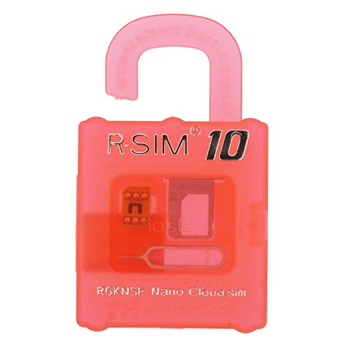 【RGKNSE】iPhone 4S/5/5C/5S/6/6 Plus・iOS 8 対応 SIM Unlock Tool R-SIM®10 Nano Cloud sim (DoCoMo / au / Softbank / Sprint / ATT共通) [並行輸入品]