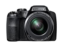Fujifilm FinePix S8400W 16.2 MP Digital Camera with 44x Optical Image Stabilized Zoom and 3-Inch TFT LCD (Black)