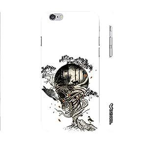 Apple Iphone 6 Skull 5 designer mobile hard shell case by Enthopia