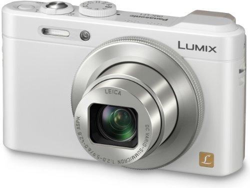 Panasonic Lumix DMC-LF1 Fotocamera Compatta grandangolare, MOS 12 MP, Zoom ottico 7x, Mirino elettronico, WiFi, NFC, Bianco