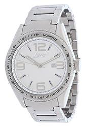 Esprit Analog White Dial Mens Watch - ES104121005