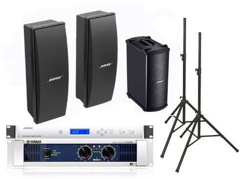 Bose 402 Ii Loudspeakers Bose Pro Audio Portable Sound System Package Includes Yamaha P3500S Amplifier