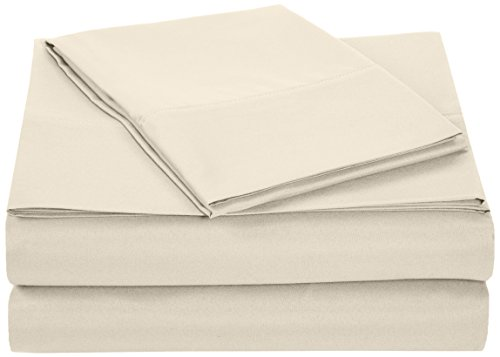 Why Choose AmazonBasics Microfiber Sheet Set - Twin Extra-Long, Beige