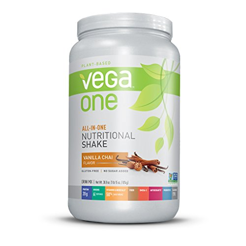 Vega One All-In-One Nutritional Shake, Vanilla Chai, Large Tub, 30.8Oz front-169656