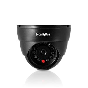 SecurityMan SM-320S dummy indoor dome camera with LED