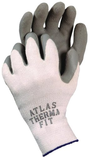 ATLAS Fit 451 Gray Thermal Work Gloves MEDIUM M CASE (Atlas Thermal Fit Gloves compare prices)