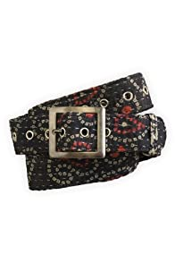 World Finds Fair Trade Recycled Kantha Belt (Assorted Navy)