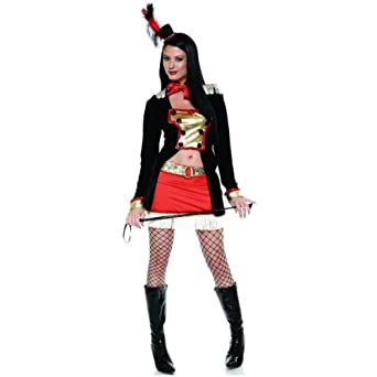 Burlesque Ringleader Costume by Forplay Red L/XL