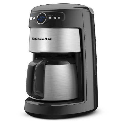 KitchenAid 12-Cup Thermal Carafe Coffee Maker, Onyx Black www.cafibo.com