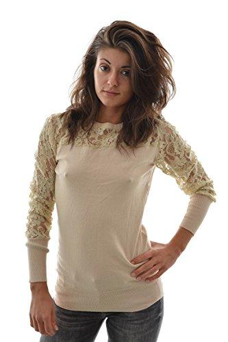 Molly Bracken -  Maglione  - Donna Beige beige
