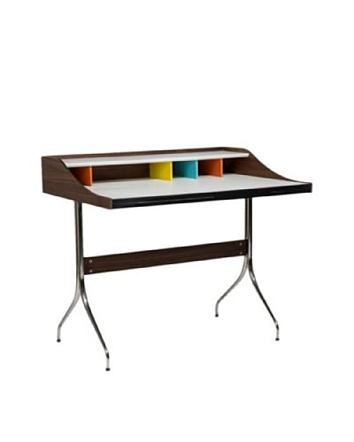 Aeon Furniture Walnut Desk, Multi