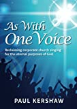 img - for As With One Voice book / textbook / text book
