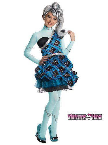 Monster High Sweet 1600 Deluxe Frankie Stein Costume
