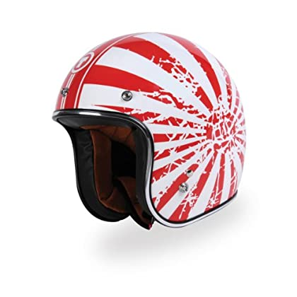 Info TORC (T50 Route 66) 3/4 Helmet with 'Japanese Bobber