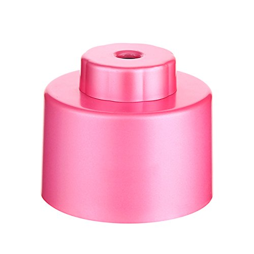 Uniquebella Night Light Mini Portable Water Bottle Steam Air Mist Humidifier Usb Powered Pink front-279742