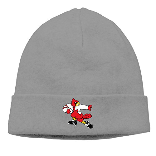 DETO Men's&Women's University Of Louisville Cardinals Patch Beanie CampingDeepHeather Cap (Nike Shoes Ninja Turtles compare prices)